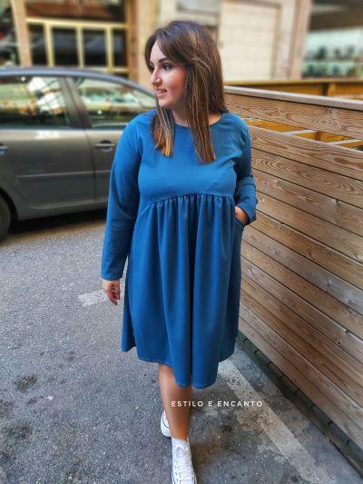 Vestido Curvy Azulón