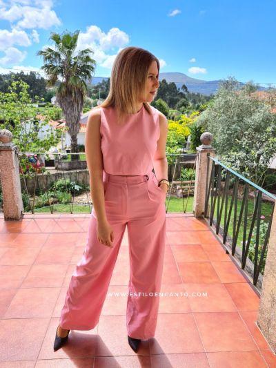 Conjunto Rosa Barbie