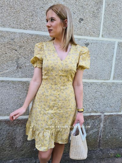 Vestido Lis Amarillo