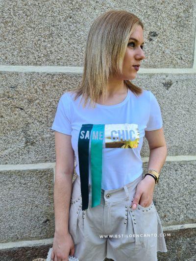 Camiseta Chic Blanca
